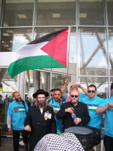 Galloway and Weiss Viva Palestina Convoy!
