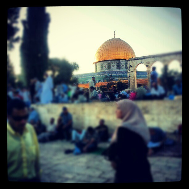 t was all worth it for Iftar and Taraweeh at Aksa... #30days #holyland #adventurecontinues