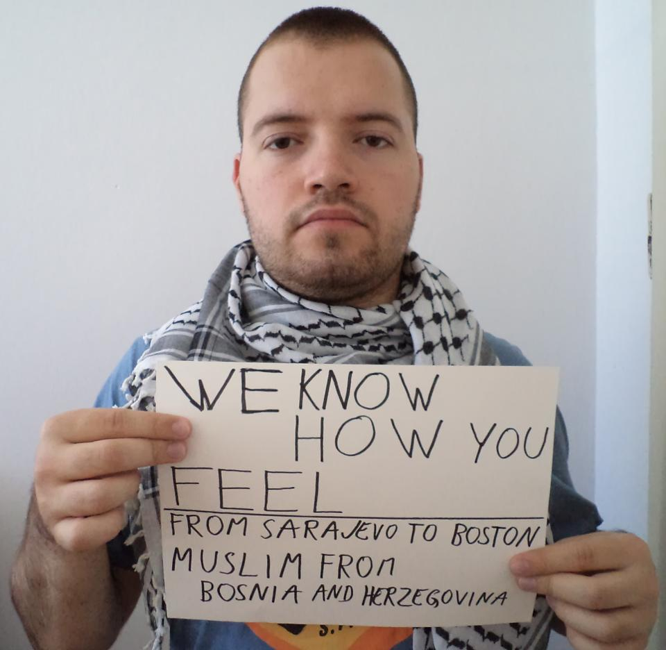 boston solidarity from bosnia